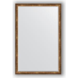 Фотография товара зеркало с фацетом в багетной раме Evoform Exclusive 112x172 см, состаренная бронза 66 мм (BY 1218) (571584)