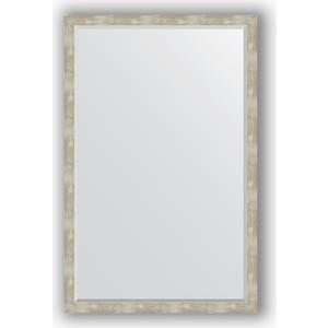 Зеркало с фацетом в багетной раме поворотное Evoform Exclusive 111x171 см, алюминий 61 мм (BY 1219) зеркало с фацетом в багетной раме поворотное evoform exclusive 111x171 см палисандр 62 мм by 1214