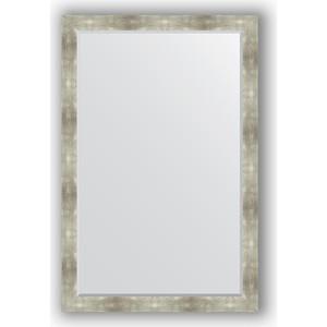 Зеркало с фацетом в багетной раме поворотное Evoform Exclusive 116x176 см, алюминий 90 мм (BY 1220) зеркало evoform by 3312