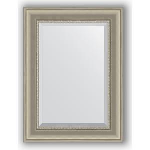 Зеркало с фацетом в багетной раме поворотное Evoform Exclusive 56x76 см, хамелеон 88 мм (BY 1225)
