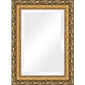 Зеркало с фацетом в багетной раме поворотное Evoform Exclusive 55x75 см, виньетка бронзовая 85 мм (BY 1230) зеркало с гравировкой поворотное evoform exclusive g 130x185 см в багетной раме виньетка бронзовая 85 мм by 4486