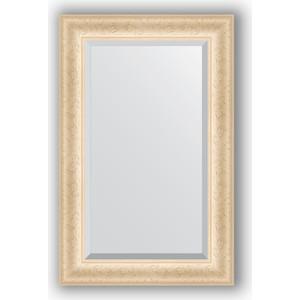 Фотография товара зеркало с фацетом в багетной раме Evoform Exclusive 55x85 см, старый гипс 82 мм (BY 1232) (571598)