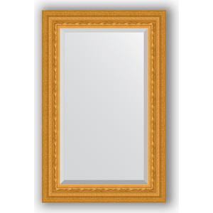 Зеркало с фацетом в багетной раме поворотное Evoform Exclusive 55x85 см, сусальное золото 80 мм (BY 1234) evoform exclusive by 1161