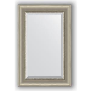 Зеркало с фацетом в багетной раме поворотное Evoform Exclusive 56x86 см, хамелеон 88 мм (BY 1235) evoform exclusive by 1161