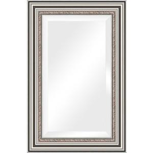 Зеркало с фацетом в багетной раме поворотное Evoform Exclusive 56x86 см, римское серебро 88 мм (BY 1237) evoform exclusive by 1161