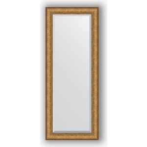 Зеркало с фацетом в багетной раме поворотное Evoform Exclusive 54x134 см, медный эльдорадо 73 мм (BY 1253) зеркало с фацетом в багетной раме поворотное evoform exclusive 53x83 см прованс с плетением 70 мм by 3407