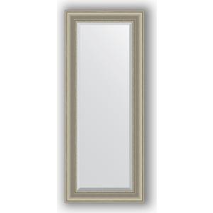 Зеркало с фацетом в багетной раме поворотное Evoform Exclusive 56x136 см, хамелеон 88 мм (BY 1255)