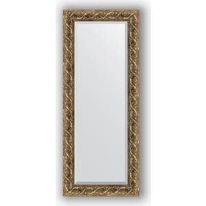 Зеркало с фацетом в багетной раме поворотное Evoform Exclusive 56x136 см, фреска 84 мм (BY 1259) зеркало с фацетом в багетной раме evoform exclusive 56x86 см фреска 84 мм by 1239