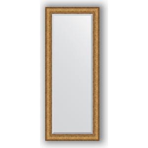 Зеркало с фацетом в багетной раме поворотное Evoform Exclusive 59x144 см, медный эльдорадо 73 мм (BY 1263)