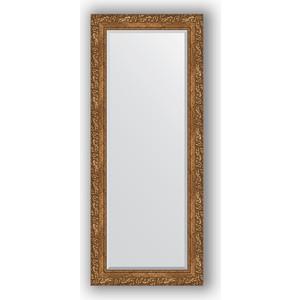 Зеркало с фацетом в багетной раме поворотное Evoform Exclusive 60x145 см, виньетка бронзовая 85 мм (BY 1270) зеркало с гравировкой поворотное evoform exclusive g 130x185 см в багетной раме виньетка бронзовая 85 мм by 4486