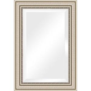 Зеркало с фацетом в багетной раме поворотное Evoform Exclusive 67x97 см, серебряный акведук 93 мм (BY 1278) зеркало с фацетом в багетной раме поворотное evoform exclusive 57x87 см серебряный акведук 93 мм by 1238