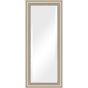 Зеркало с фацетом в багетной раме поворотное Evoform Exclusive 67x157 см, серебряный акведук 93 мм (BY 1288) зеркало с фацетом в багетной раме поворотное evoform exclusive 57x87 см серебряный акведук 93 мм by 1238