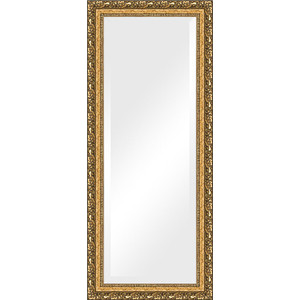 Зеркало с фацетом в багетной раме поворотное Evoform Exclusive 65x155 см, виньетка бронзовая 85 мм (BY 1290) зеркало с фацетом в багетной раме поворотное evoform exclusive 53x83 см прованс с плетением 70 мм by 3407