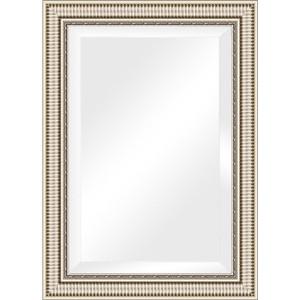 Зеркало с фацетом в багетной раме поворотное Evoform Exclusive 77x107 см, серебряный акведук 93 мм (BY 1298) зеркало с фацетом в багетной раме поворотное evoform exclusive 57x87 см серебряный акведук 93 мм by 1238