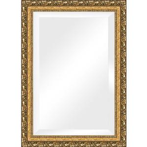 Зеркало с фацетом в багетной раме поворотное Evoform Exclusive 75x105 см, виньетка бронзовая 85 мм (BY 1300) зеркало с фацетом в багетной раме поворотное evoform exclusive 53x83 см прованс с плетением 70 мм by 3407