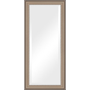 Зеркало с фацетом в багетной раме поворотное Evoform Exclusive 76x166 см, хамелеон 88 мм (BY 1305) зеркало с фацетом в багетной раме поворотное evoform exclusive 76x166 см фреска 84 мм by 1309
