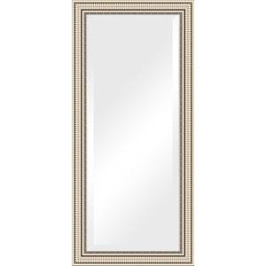 Зеркало с фацетом в багетной раме поворотное Evoform Exclusive 77x167 см, серебряный акведук 93 мм (BY 1308) зеркало с фацетом в багетной раме поворотное evoform exclusive 57x87 см серебряный акведук 93 мм by 1238