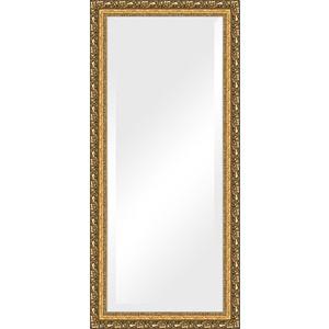 Зеркало с фацетом в багетной раме поворотное Evoform Exclusive 75x165 см, виньетка бронзовая 85 мм (BY 1310) зеркало с фацетом в багетной раме поворотное evoform exclusive 53x83 см прованс с плетением 70 мм by 3407
