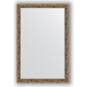 Зеркало с фацетом в багетной раме поворотное Evoform Exclusive 116x176 см, фреска 84 мм (BY 1319) зеркало с фацетом в багетной раме evoform exclusive 56x86 см фреска 84 мм by 1239