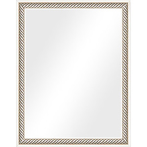 Зеркало в багетной раме Evoform Definite 35x45 см, витое серебро 28 мм (BY 1326)