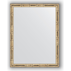 Зеркало в багетной раме Evoform Definite 34x44 см, серебряный бамбук 24 мм (BY 1329)