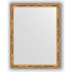 Зеркало в багетной раме Evoform Definite 34x44 см, золотой бамбук 24 мм (BY 1330)