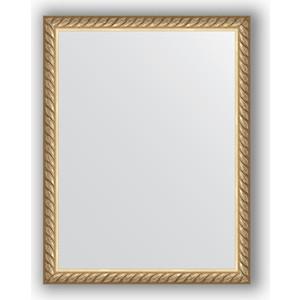 Зеркало в багетной раме Evoform Definite 34x44 см, витая латунь 26 мм (BY 1338)