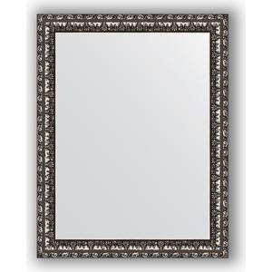 Зеркало в багетной раме Evoform Definite 37x47 см, черненое серебро 38 мм (BY 1340)