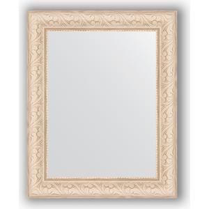 Зеркало в багетной раме Evoform Definite 40x50 см, беленый дуб 57 мм (BY 1348) зеркало в багетной раме evoform definite 64x64 см беленый дуб 57 мм by 0781