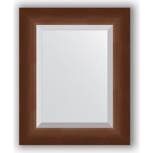 Зеркало с фацетом в багетной раме Evoform Exclusive 42x52 см, орех 65 мм (BY 1359) evoform exclusive by 1239