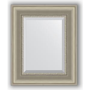 Зеркало с фацетом в багетной раме Evoform Exclusive 46x56 см, хамелеон 88 мм (BY 1367)