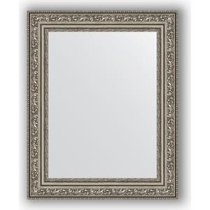 Зеркало в багетной раме Evoform Definite 40x50 см, виньетка состаренное серебро 56 мм (BY 3008) зеркало в багетной раме evoform definite 60x60 см состаренное серебро 37 мм by 0610