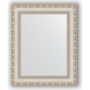 Зеркало в багетной раме Evoform Definite 42x52 см, версаль серебро 64 мм (BY 3014) evoform definite 55x145 см версаль серебро 64 мм by 3110