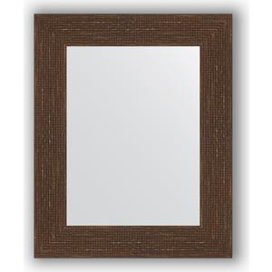 Зеркало в багетной раме Evoform Definite 43x53 см, мозаика античная медь 70 мм (BY 3017) зеркало в багетной раме поворотное evoform definite 56x76 см мозаика античная медь 70 мм by 3049