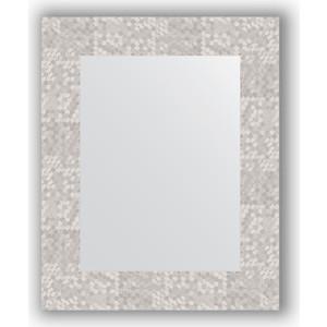 Зеркало в багетной раме Evoform Definite 43x53 см, соты алюминий 70 мм (BY 3019) зеркало в багетной раме поворотное evoform definite 56x76 см соты алюминий 70 мм by 3051