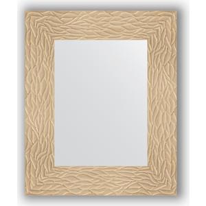 Зеркало в багетной раме Evoform Definite 46x56 см, золотые дюны 90 мм (BY 3021) цены
