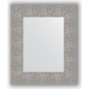 Зеркало в багетной раме Evoform Definite 46x56 см, чеканка серебряная 90 мм (BY 3023) цена