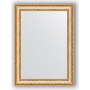 Зеркало в багетной раме поворотное Evoform Definite 55x75 см, версаль кракелюр 64 мм (BY 3045) зеркало в багетной раме evoform definite 75x75 см версаль кракелюр 64 мм by 3237
