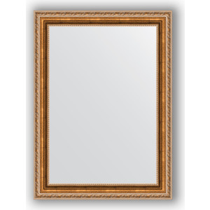 Зеркало в багетной раме поворотное Evoform Definite 55x75 см, версаль бронза 64 мм (BY 3047) зеркало в багетной раме evoform definite 75x75 см версаль кракелюр 64 мм by 3237
