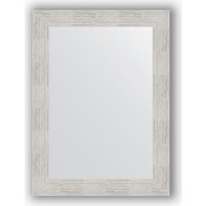 Зеркало в багетной раме поворотное Evoform Definite 56x76 см, серебряный дождь 70 мм (BY 3048) зеркало в багетной раме поворотное evoform definite 56x76 см соты алюминий 70 мм by 3051