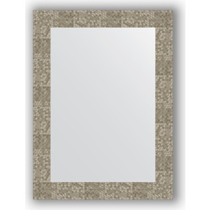 все цены на Зеркало в багетной раме поворотное Evoform Definite 56x76 см, соты титан 70 мм (BY 3052) онлайн