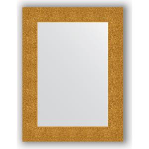 Зеркало в багетной раме поворотное Evoform Definite 60x80 см, чеканка золотая 90 мм (BY 3054) зеркало в багетной раме поворотное evoform definite 70x90 см чеканка золотая 90 мм by 3182
