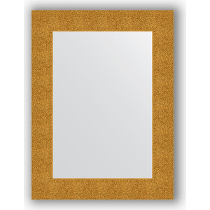 Зеркало в багетной раме поворотное Evoform Definite 60x80 см, чеканка золотая 90 мм (BY 3054) thule 3054
