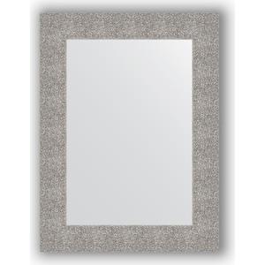 Зеркало в багетной раме поворотное Evoform Definite 60x80 см, чеканка серебряная 90 мм (BY 3055) evoform зеркало evoform 60x80 см 6321737 qw05kv1 6321737