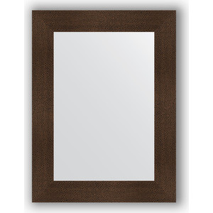 Зеркало в багетной раме поворотное Evoform Definite 60x80 см, бронзовая лава 90 мм (BY 3056) зеркало в багетной раме поворотное evoform definite 54x144 см травленое серебро 59 мм by 0718