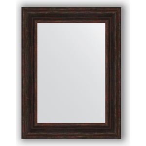 Зеркало в багетной раме поворотное Evoform Definite 62x82 см, темный прованс 99 мм (BY 3062) зеркало в багетной раме поворотное evoform definite 62x82 см травленое серебро 99 мм by 3060