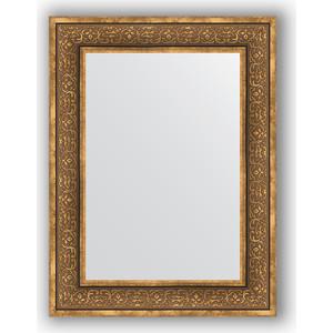 Зеркало в багетной раме поворотное Evoform Definite 63x83 см, вензель бронзовый 101 мм (BY 3063)