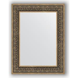 Зеркало в багетной раме поворотное Evoform Definite 63x83 см, вензель серебряный 101 мм (BY 3064) зеркало в багетной раме поворотное evoform definite 63x83 см вензель бронзовый 101 мм by 3063