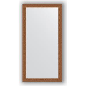 Зеркало в багетной раме поворотное Evoform Definite 51x101 см, мозаика медь 46 мм (BY 3067) зеркало в багетной раме поворотное evoform definite 51x71 см мозаика хром 46 мм by 3036