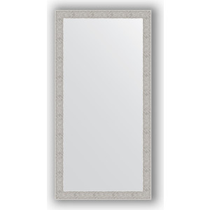 Зеркало в багетной раме поворотное Evoform Definite 51x101 см, волна алюминий 46 мм (BY 3070) зеркало в багетной раме поворотное evoform definite 54x144 см травленое серебро 59 мм by 0718